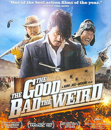 GOOD BAD AND WEIRD BY WOO-SUNG,JUNG (Blu-Ray)